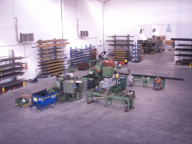 Ricevimento materiale e reparto taglio